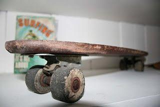 Rare Bilbo Skateboard 1967' vintagesurfboardcollector.uk