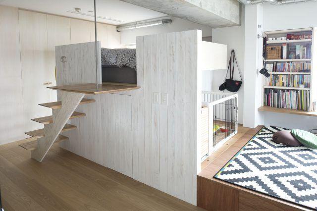Photo of 愛犬スペースをDIY!「ワンルーム」でも夫婦+犬がのびのび暮らせる家 | Sumai 日刊住まい