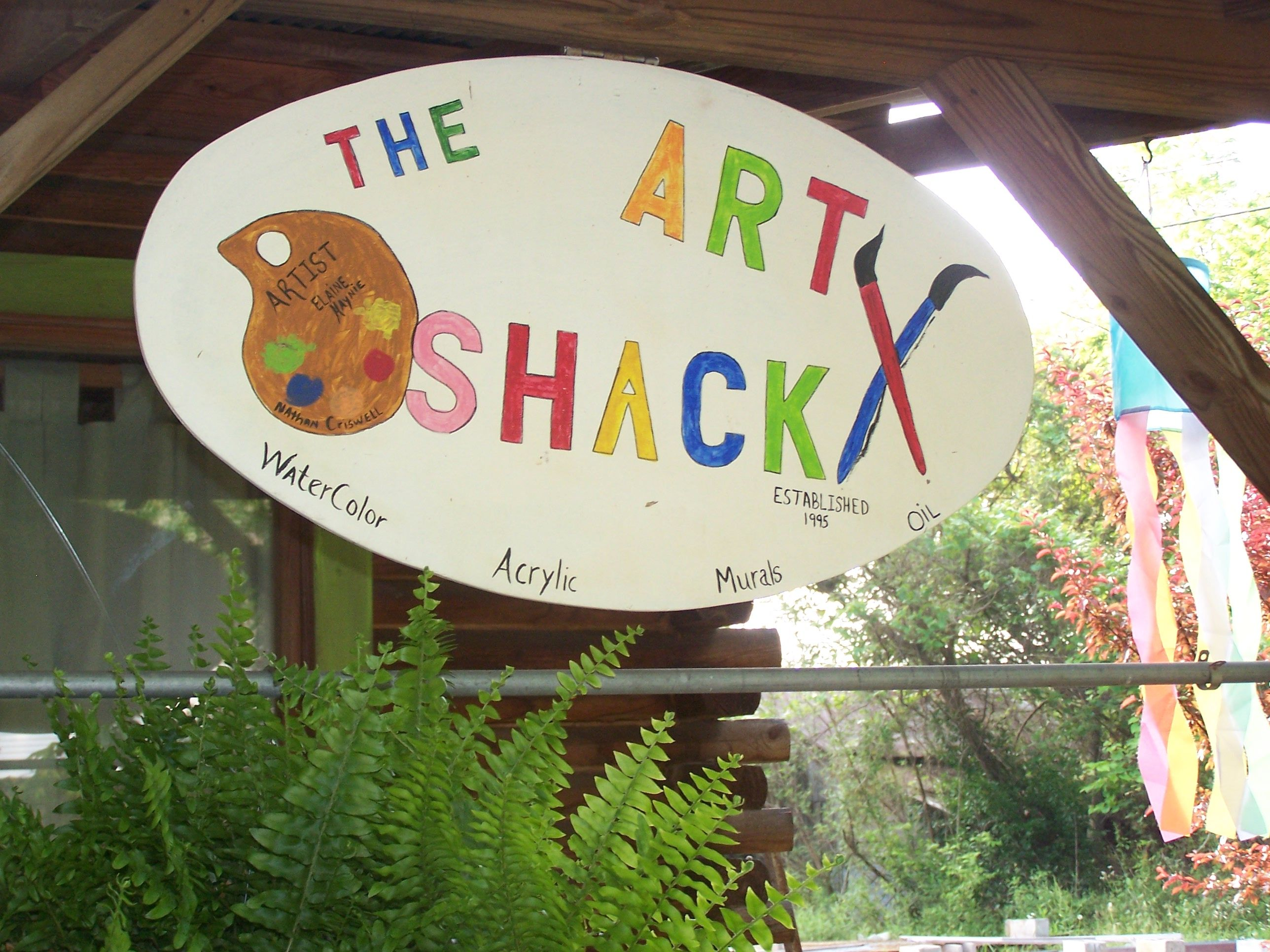 my lil art shack.. great get away place...
