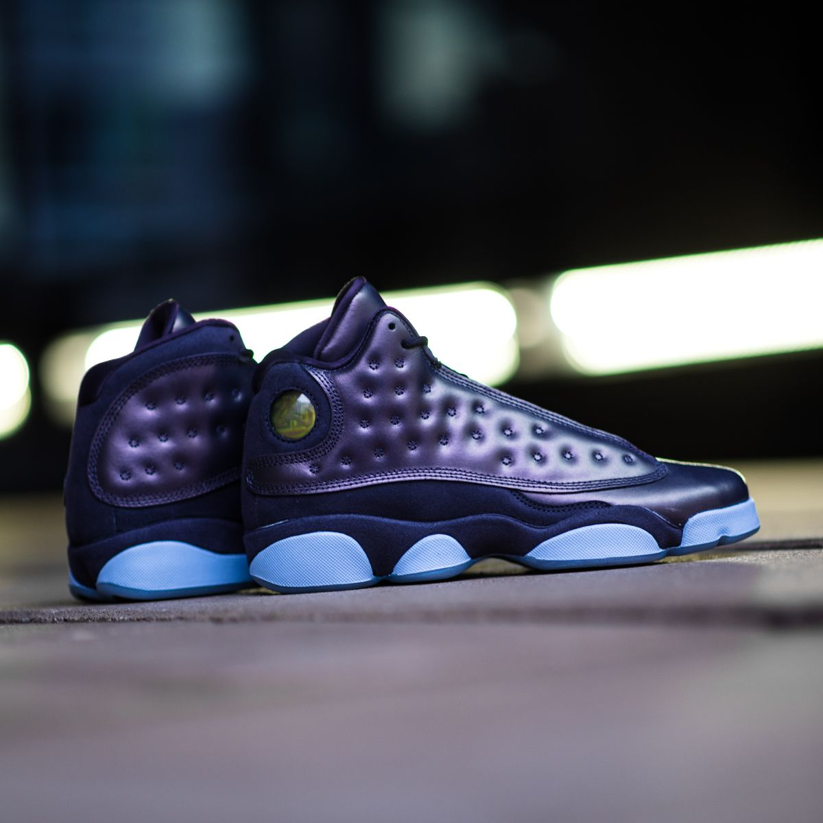 pretty nice 864c3 19b43 Ladies, here s something special for you! The super shiny Air Jordan 13 HC  Dark  Raisin  is now available on KICKZ.com!