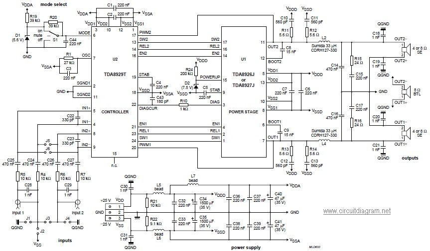 Class H Amplifier Circuit Diagram Lovely 1000w Audio Power