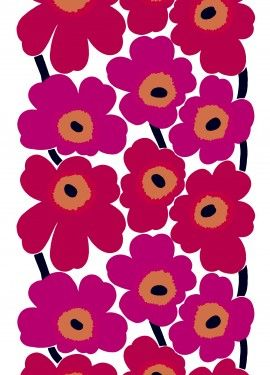Unikko fabric by Marimekko
