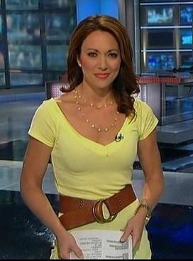 Sexy journalist