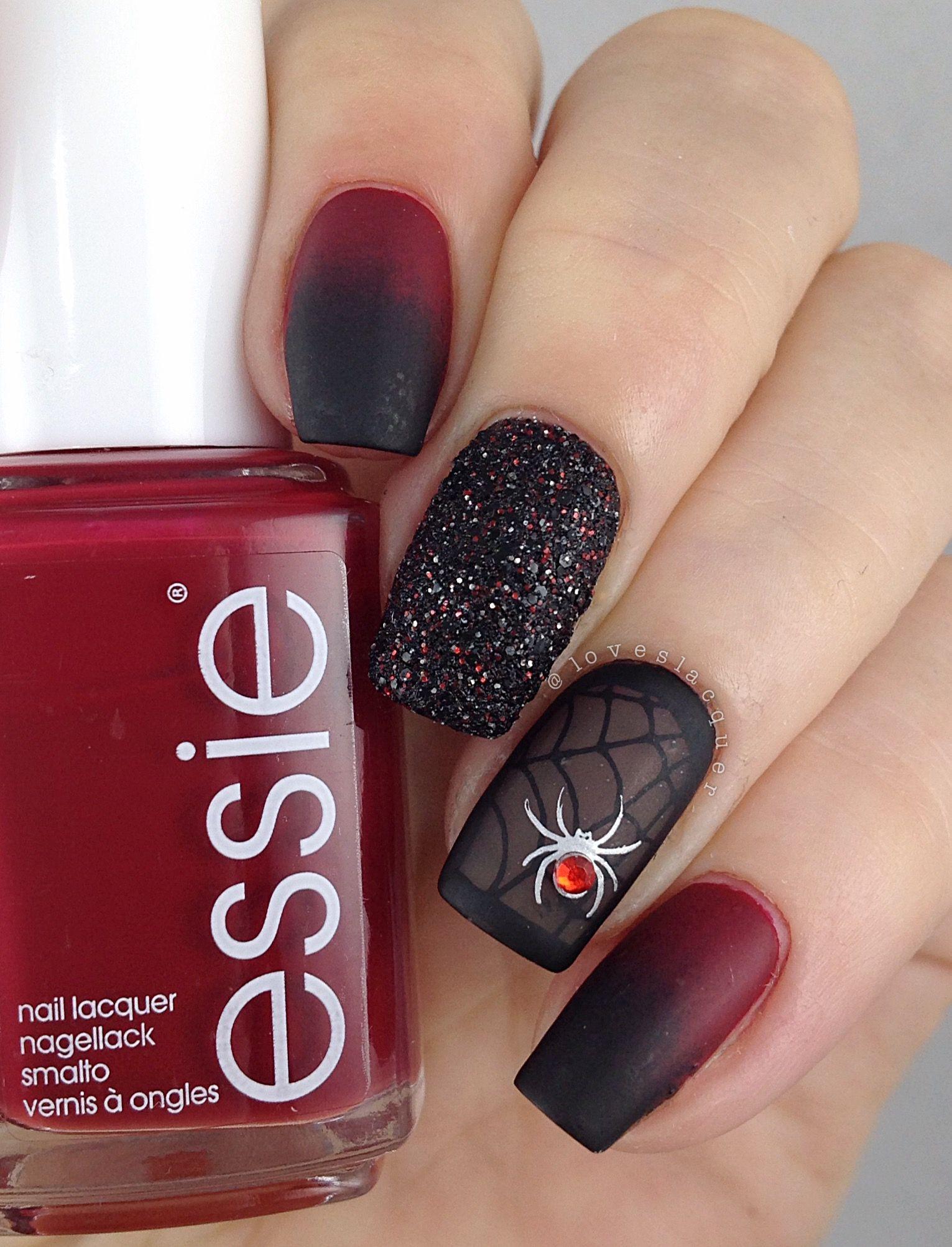 Halloween nails (mit Bildern) | Halloween nägel, Nägel ...