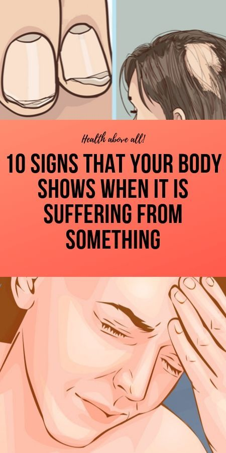 10 Signs That Your Body Shows When It Is Suffering From Something #300workout