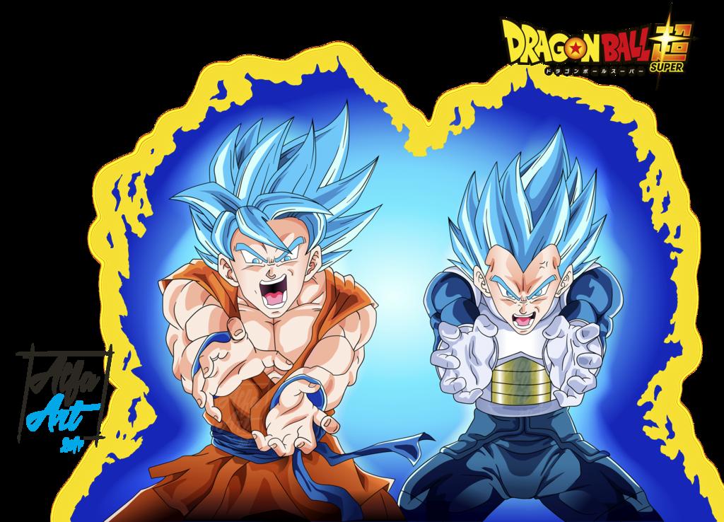 Goku En Kamehameha Y Vegeta Final Flash By Alfa Artdeviantart