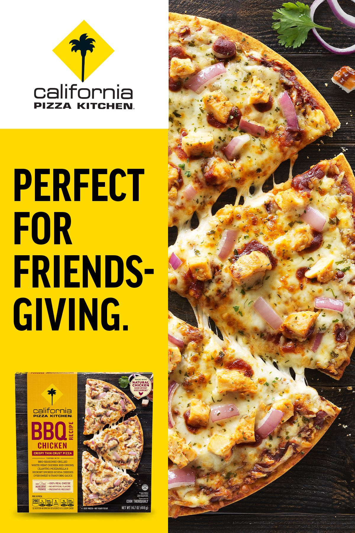 Try Something Unexpected For Friendsgiving With California Pizza