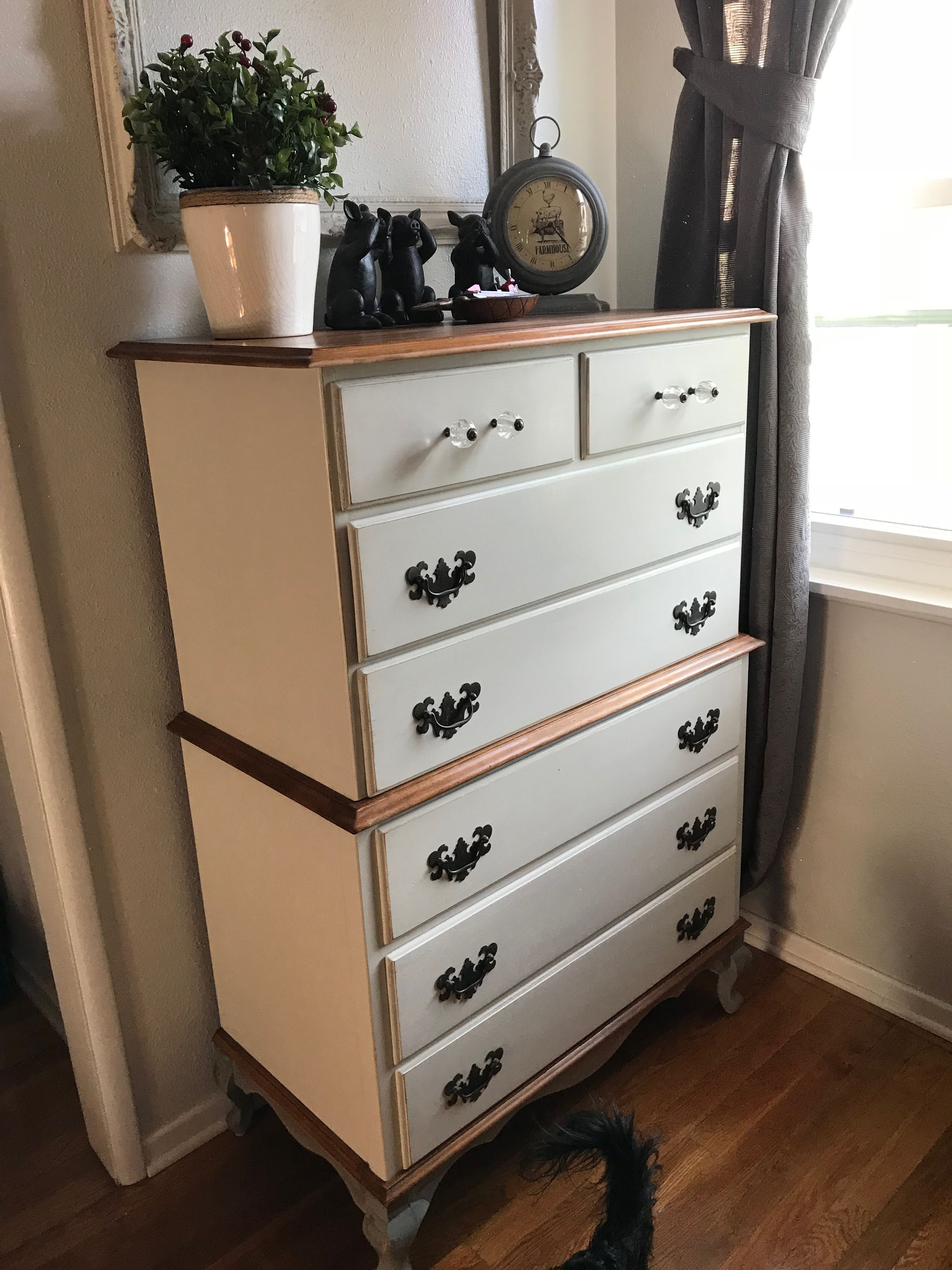 Free Dresser Country Gray Legs And Linen Body Rust Oleum