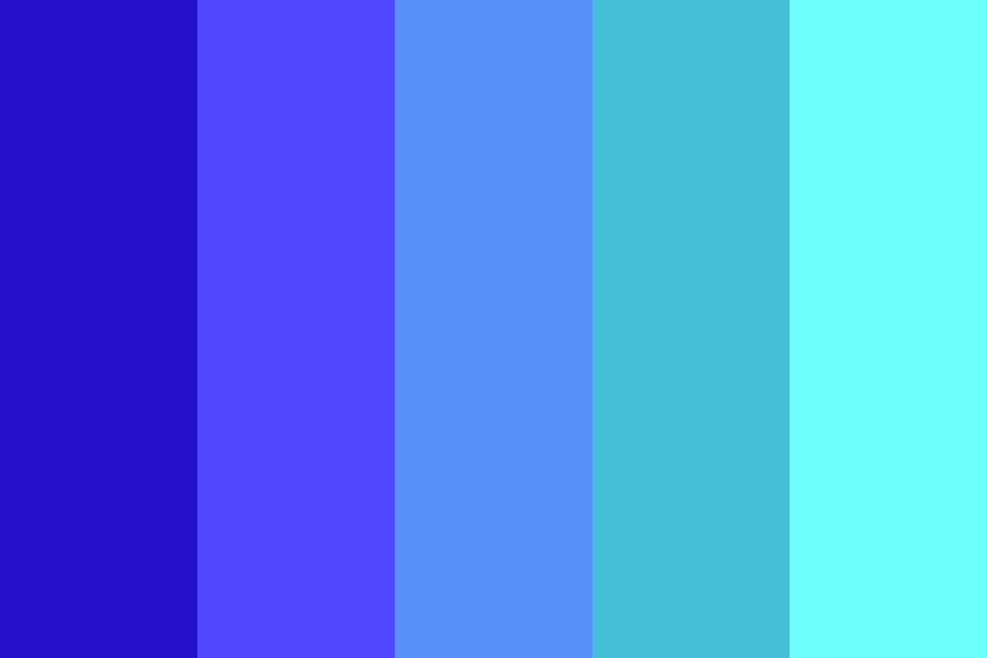 Aquamarine Nights Color Palette In 2020 Color Palette Aqua Color Palette Palette