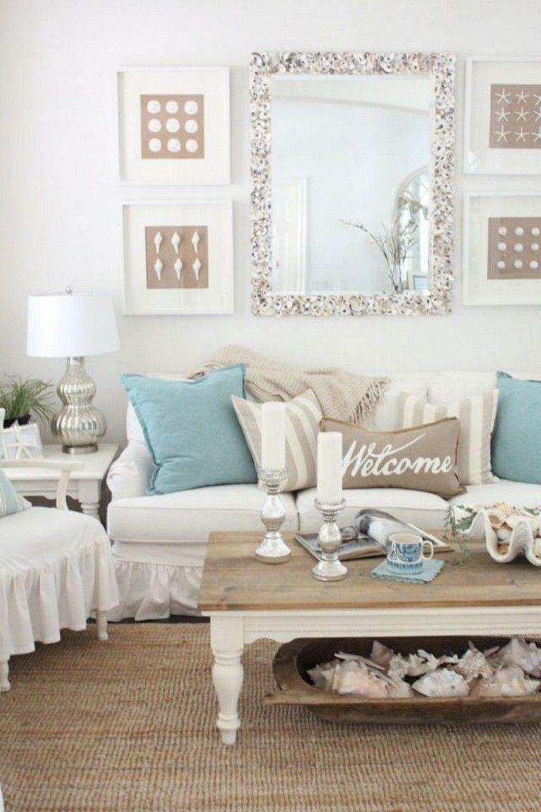 50 Good Diy Beachy Living Room Decor Ideas Coastal Style Living