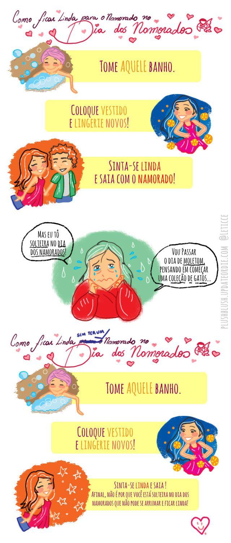 Tirinhas | Linda no Dia dos Namorados