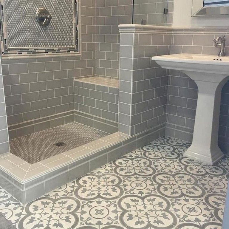 70 Lovely Bathroom Tile Remodel Ideas Best Bathroom Flooring Bathroom Flooring Beautiful Tile Bathroom