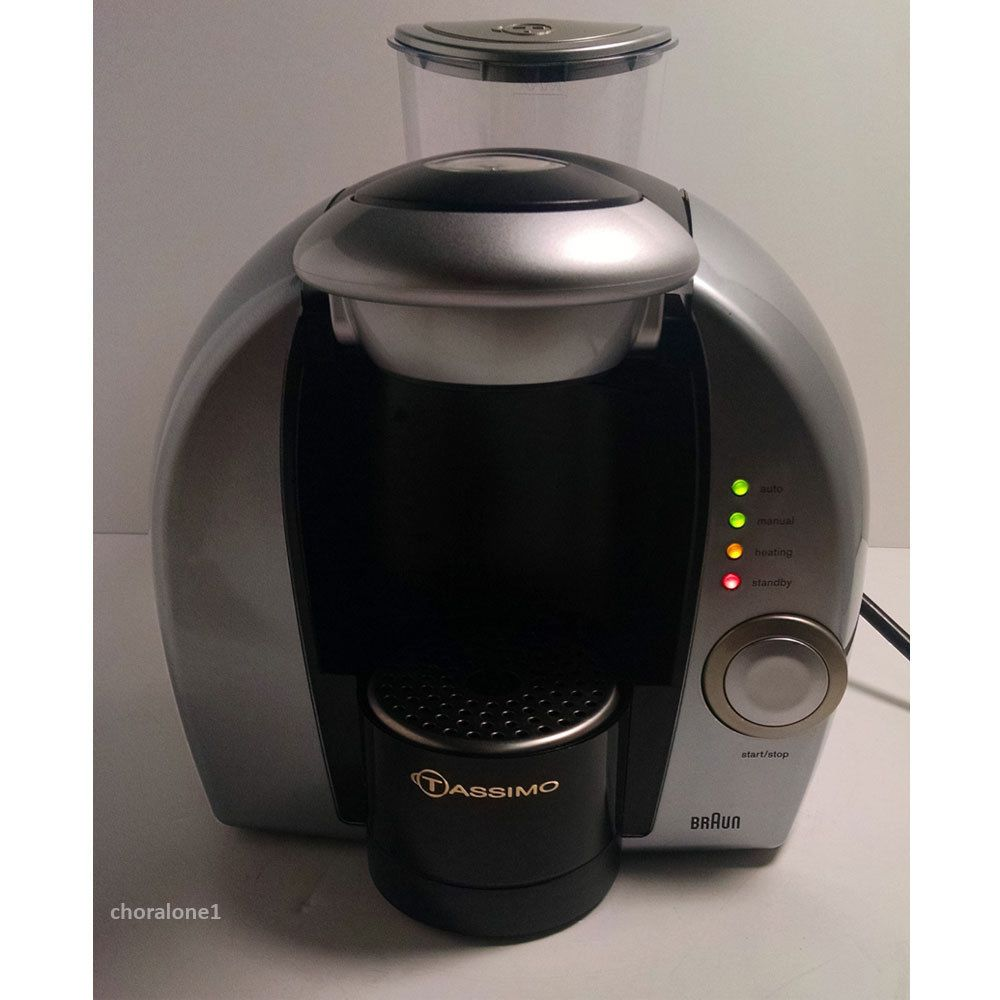 Braun Tassimo Single Cup Coffee Maker 3107 w/ Filter ...