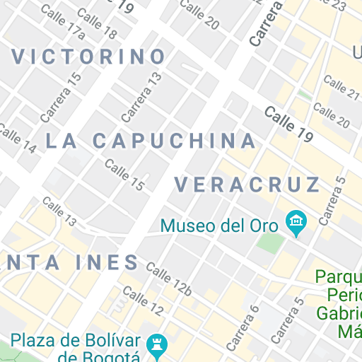 Sightseeing Maps for a Tour of Bogotá — walkli.com in 2020 ...