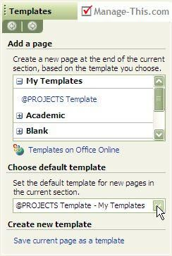 onenote to do list template