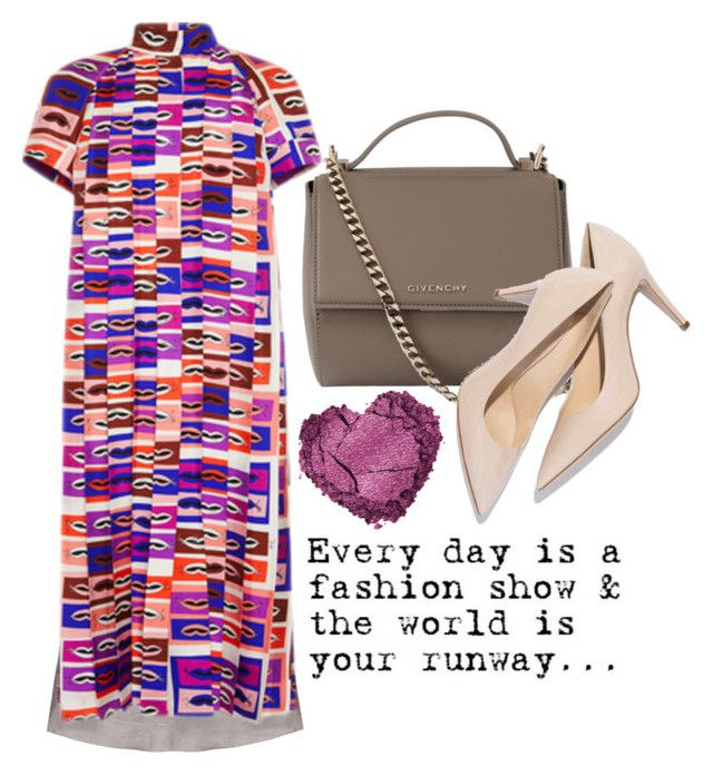"""""""Every day"""" by cherieaustin on Polyvore featuring Emilio Pucci, Givenchy, women's clothing, women, female, woman, misses and juniors"""