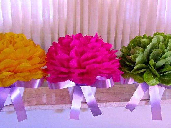 Centro de mesa Marina Flor Centros de mesa Centro y Flores de papel