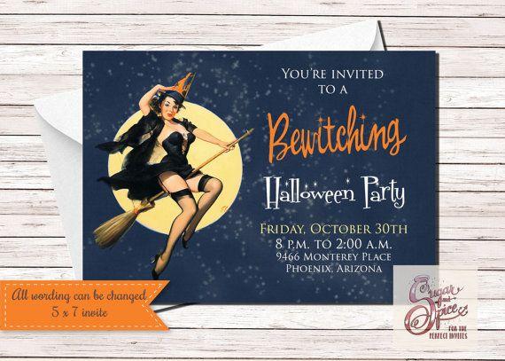 Halloween invitation adult halloween party invitation sexy costume halloween invitation printable adult by sugarspiceinvitation stopboris Images