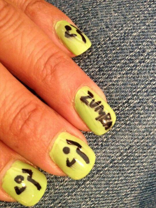 zumba nails cool nail