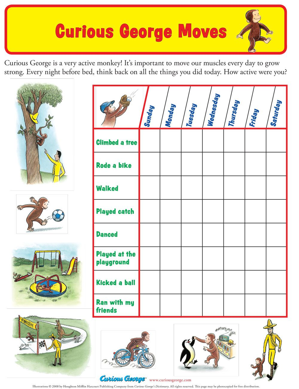 worksheet Exercise Worksheets exercise worksheet coloring pages and activities pinterest worksheet
