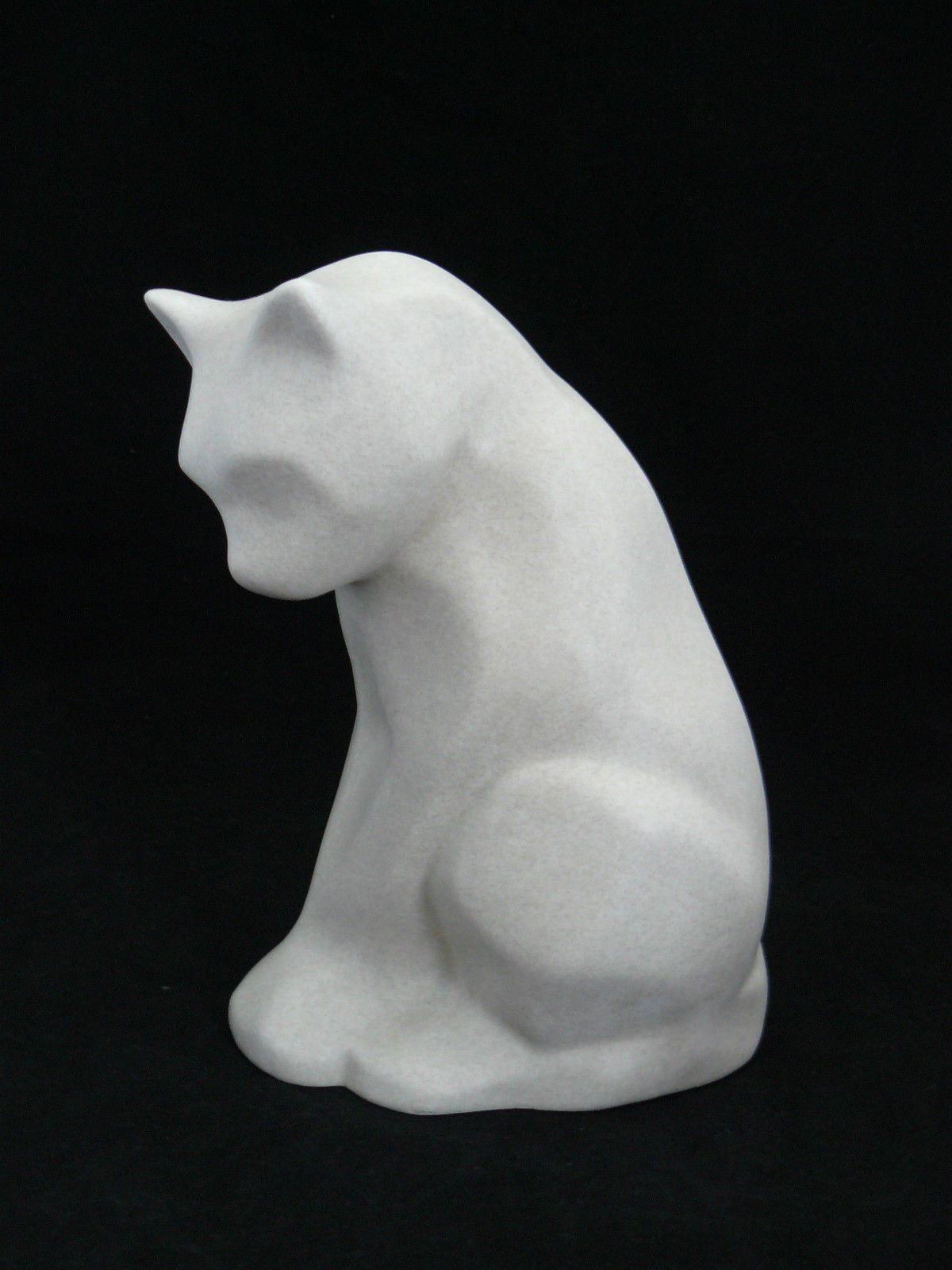 Souvent Sculpture Chat Faïence ART Déco 1930 LE Lemanceau Lejan ST Clément  YT18