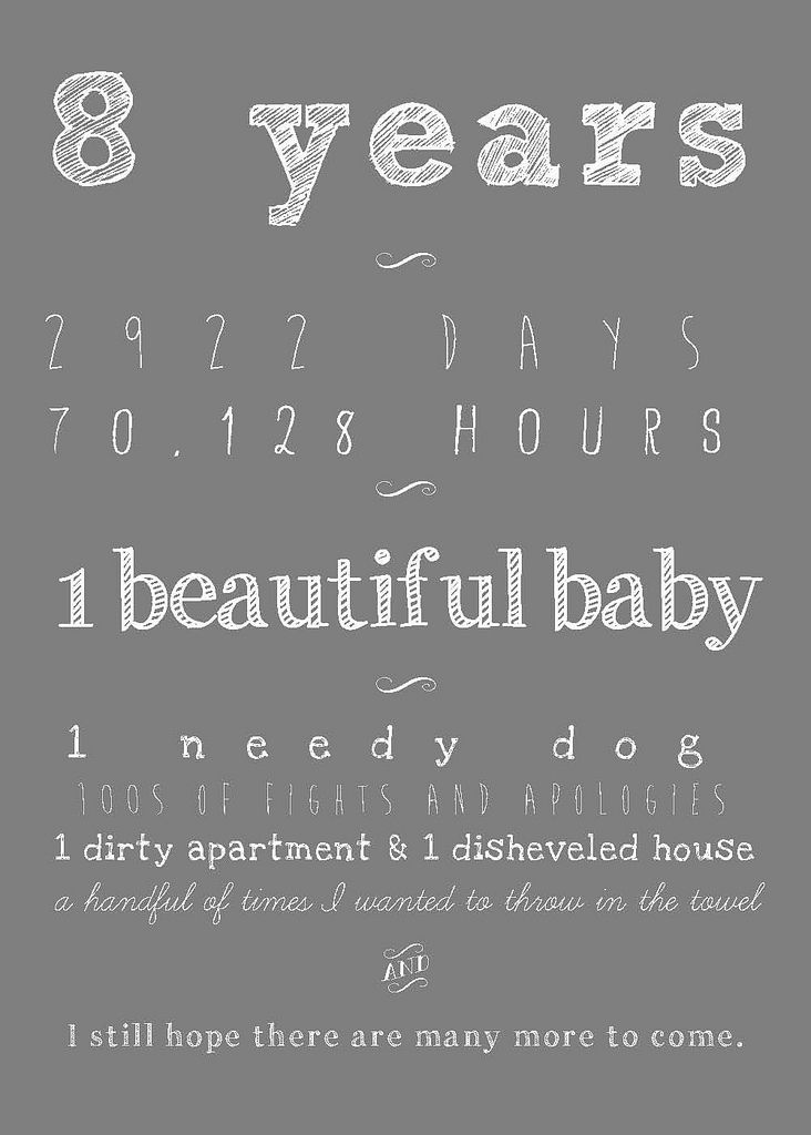Wedding Anniversary Gift Years 8th Ideas Quotes