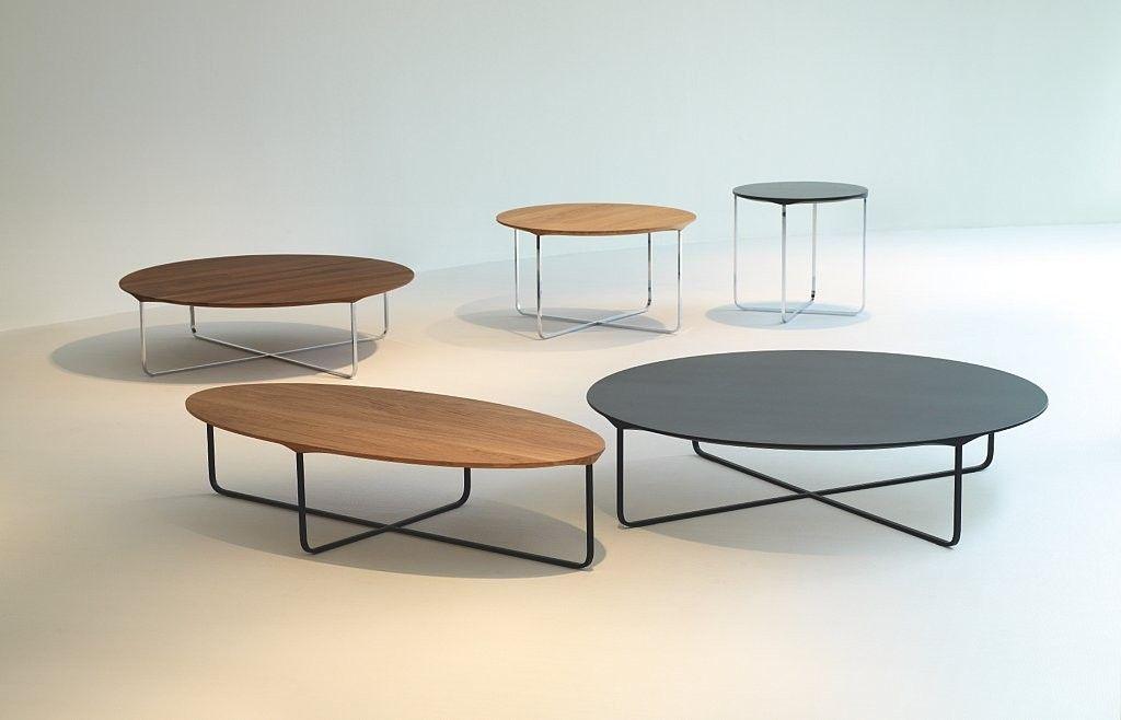 Dooijes binnenhuis montis flint 110 rond salontafels for Salontafel rond design