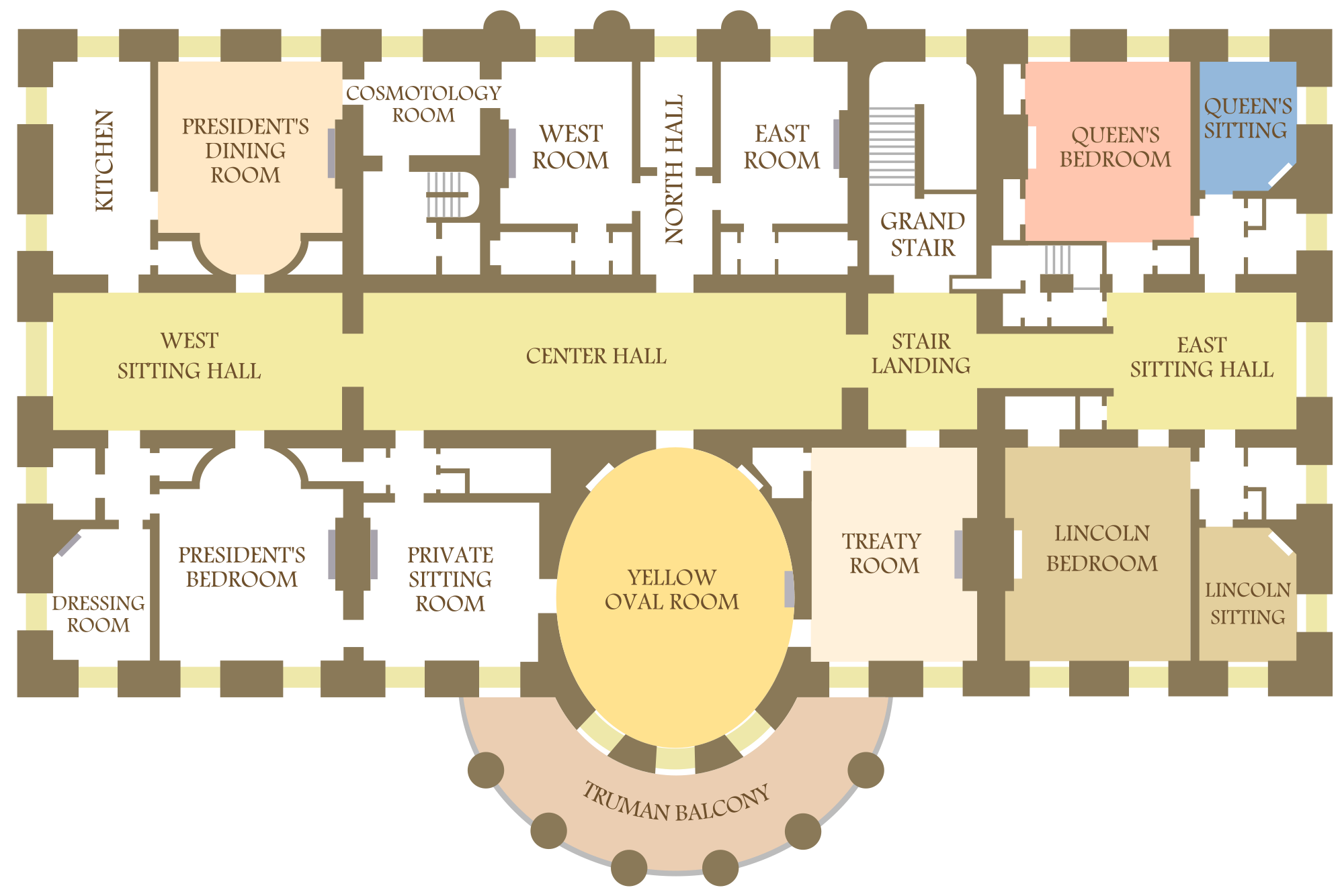 oval office floor plan. Stairs To The Third Floor Mansion - Google Search Oval Office Plan