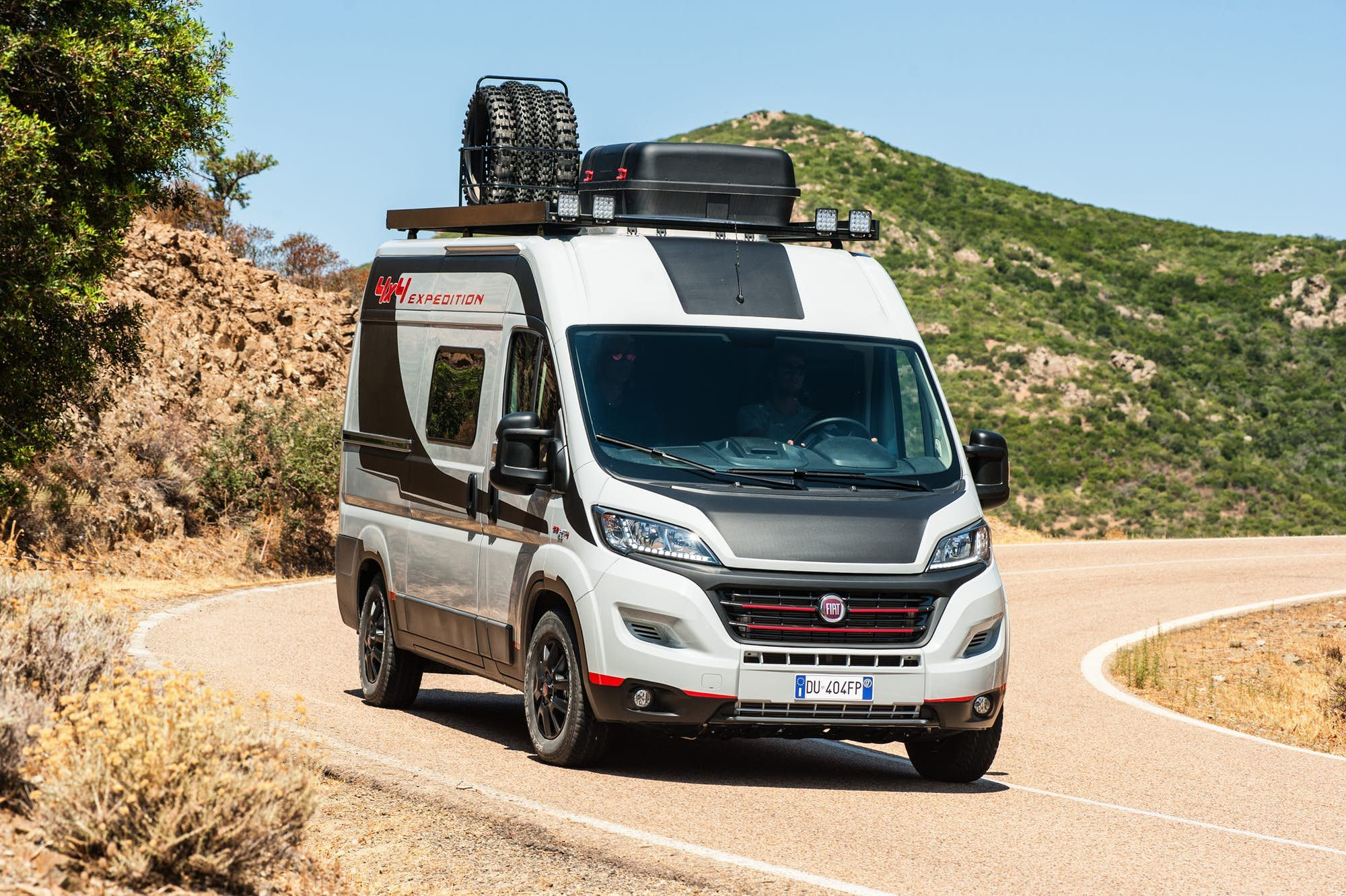 Fiat Gives Camper Vans More Grip With The All New Ducato 4x4