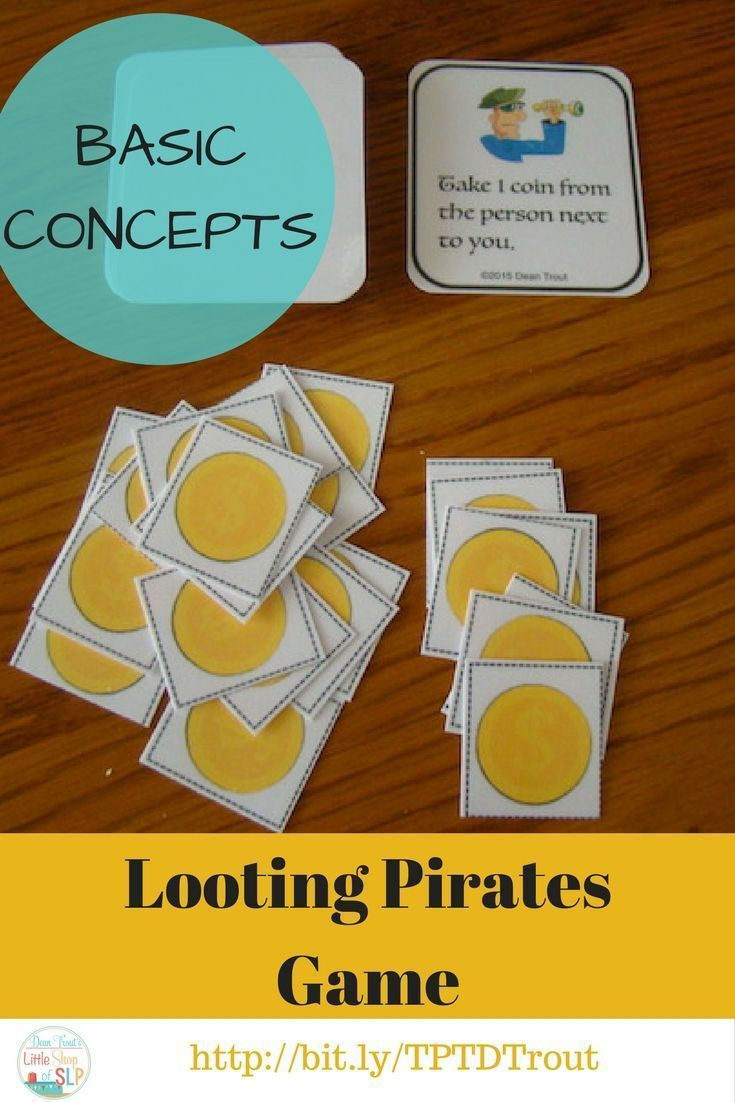 Basic Concepts Garme. You student will have fun learning basic concepts of left, right, skip, next to, boy, girl, all, none, some, etc all while playing a game.  Concepts are kindergarten age appropriate through 2nd grade.