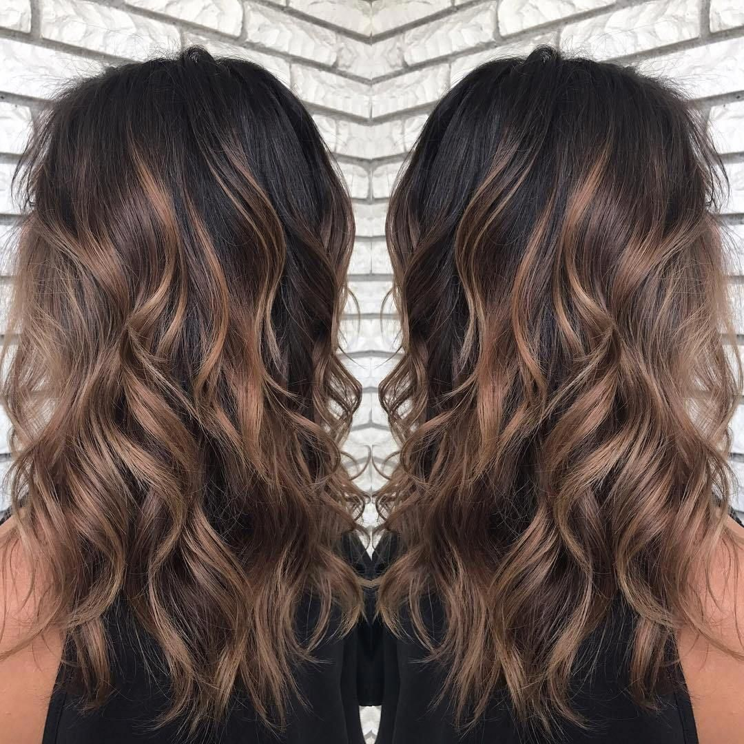 60 Hairstyles Featuring Dark Brown Hair With Highlights Hair Styles Brown Blonde Hair Brown Hair Balayage