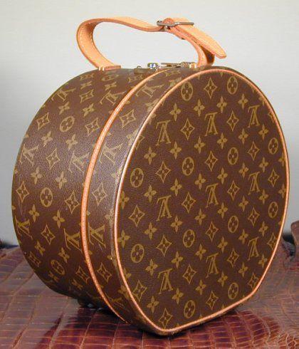 Louis Vuitton Hat Case