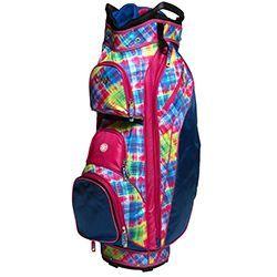 Glove It Electric Plaid Ladies Golf Bag Glove It Women s 14-way cart golf  bags feature full length dividers 602d3f8d3c