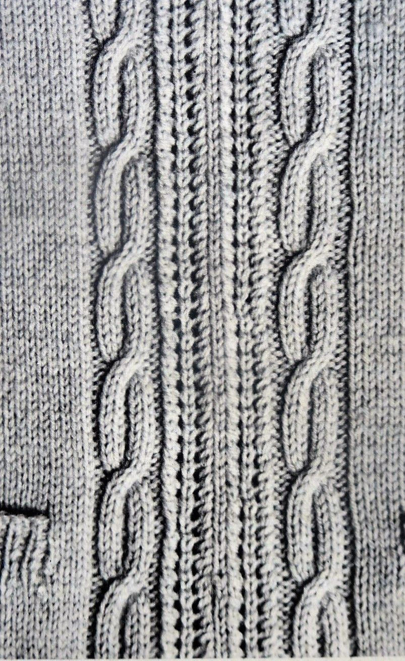 Enchanting Cable Knit Patterns Frieze - Decke Stricken Muster ...