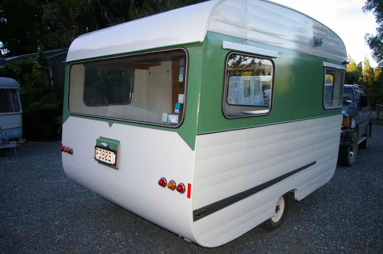DOLLY The 1967 10ft Zephyr Retro Caravans Northland Ltd