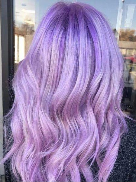 Light Amethyst Hair Color Purple Hair Color Plum Mermaid Hair Color