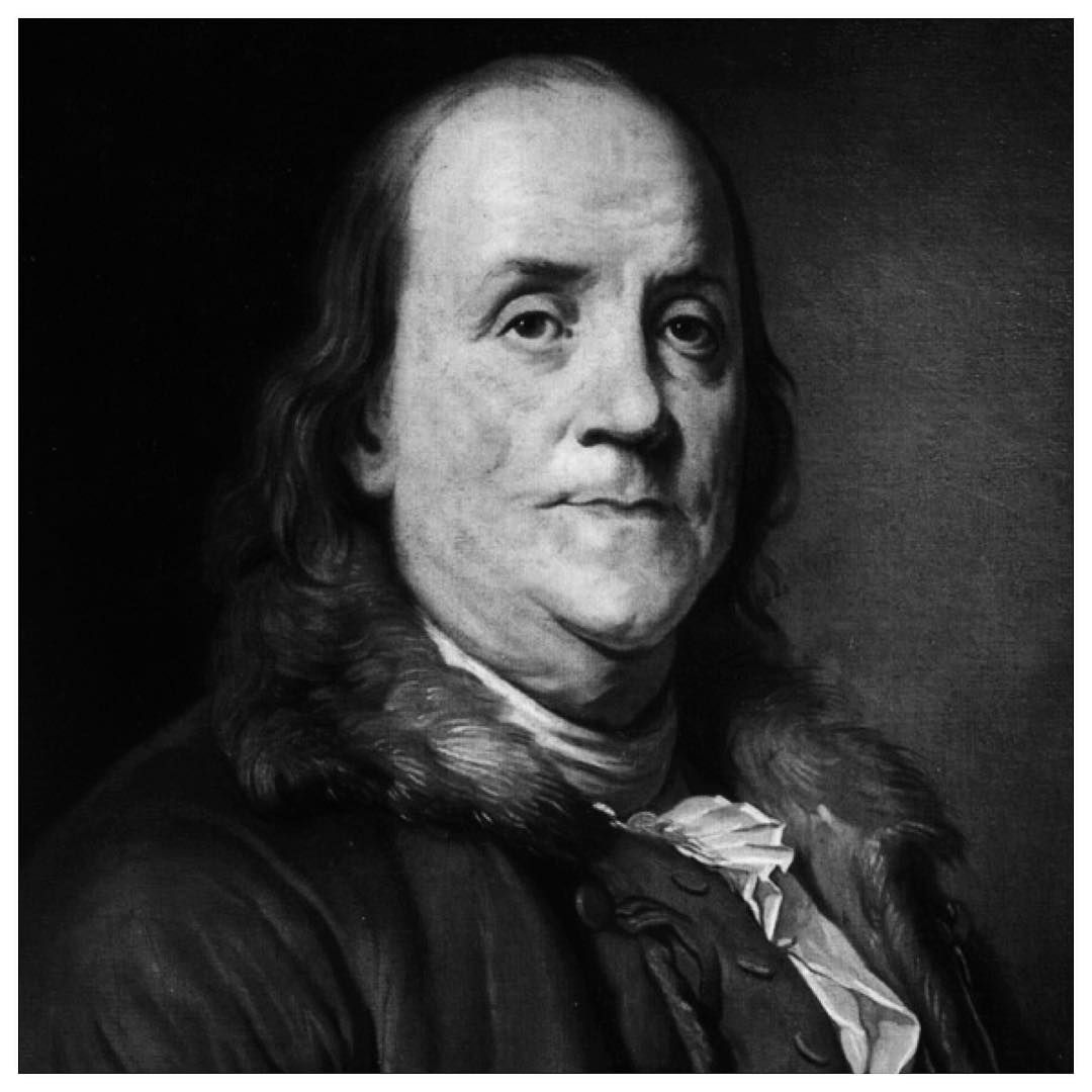 """""""Benjamin Franklin // """"All highly competent people"""