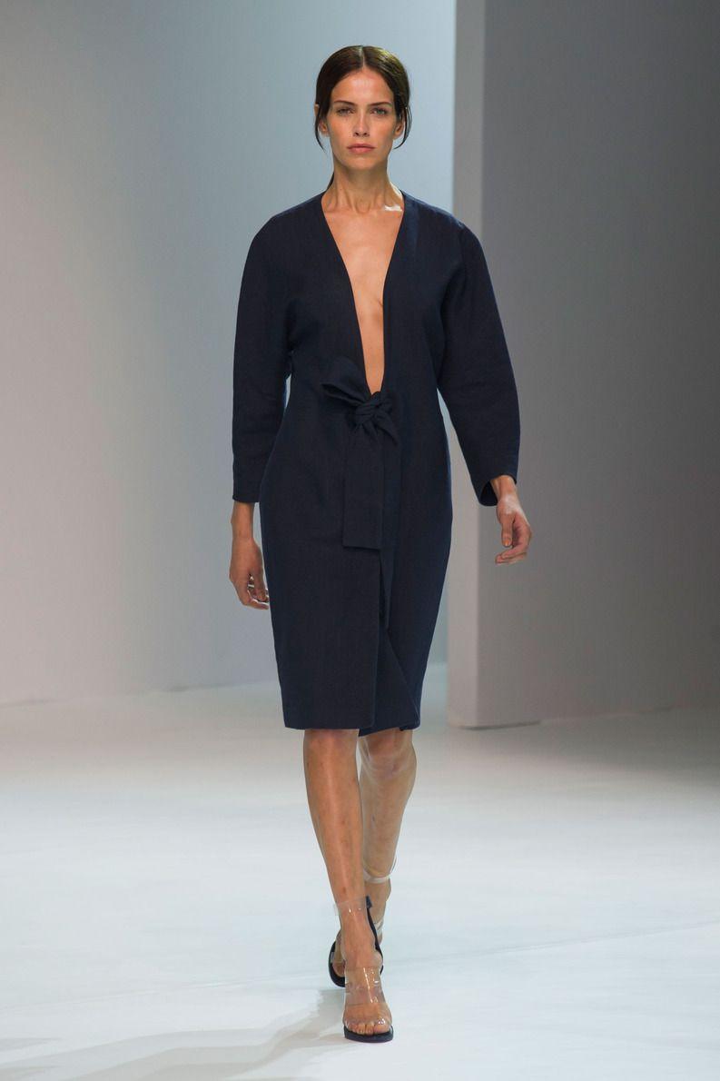 Défilé Porsche Design, prêt-à-porter printemps-été 2015, New York. #NYFW #Fashionweek #runway