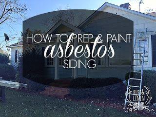 Rust Linen Asbestos Siding Exterior Paint House Paint Exterior