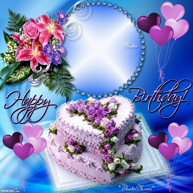 By Maria Elena Lopez Birthday Wishes With Photo Happy Cake Pictures