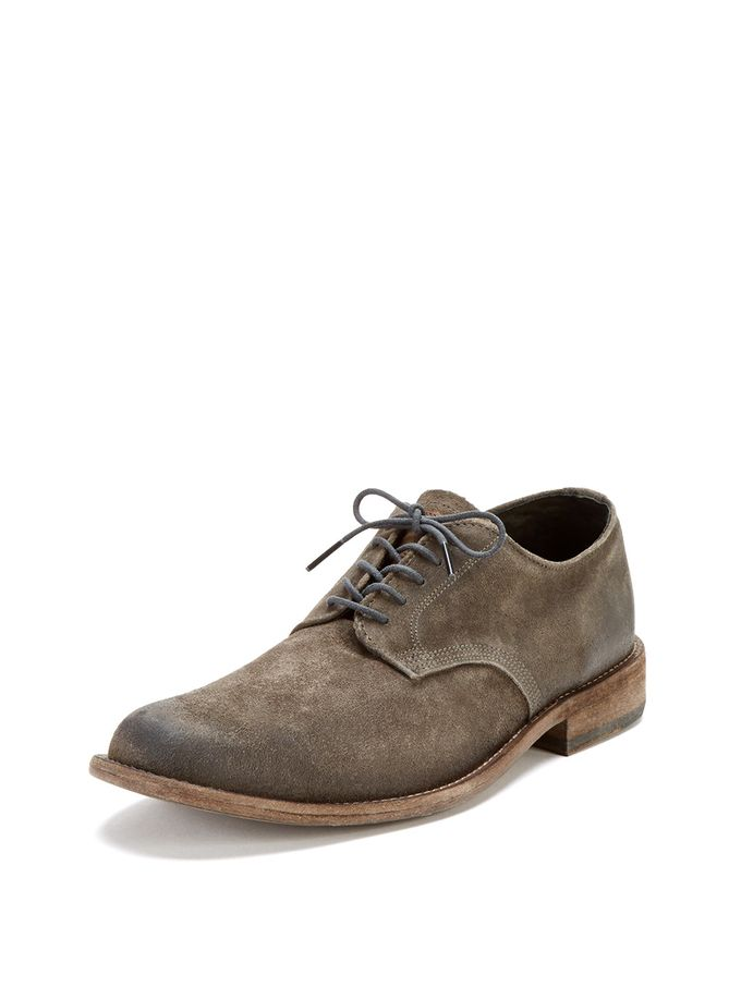 henry suede oxford from vintage shoe company on gilt