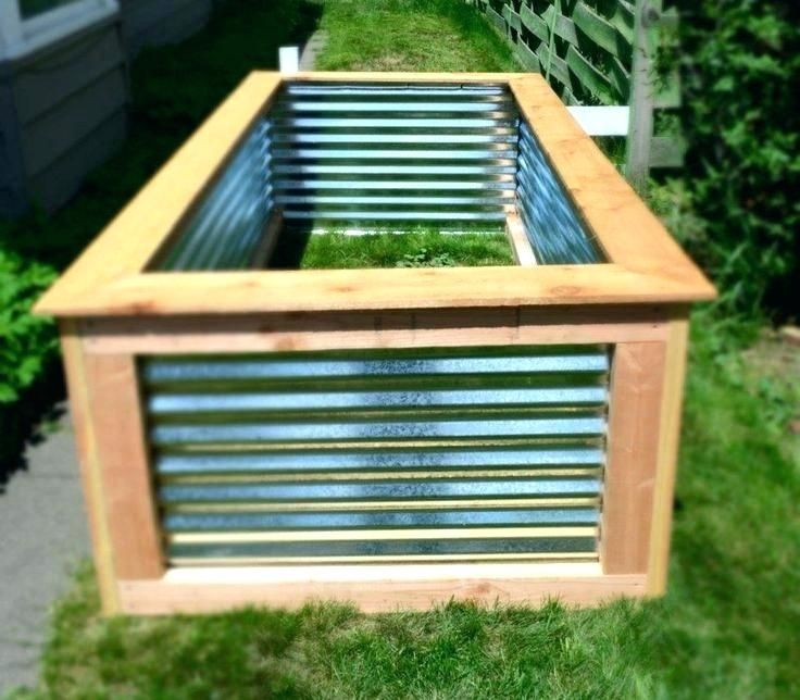 Image Result For Raised Garden Bed With Corrugated Metal 640 x 480