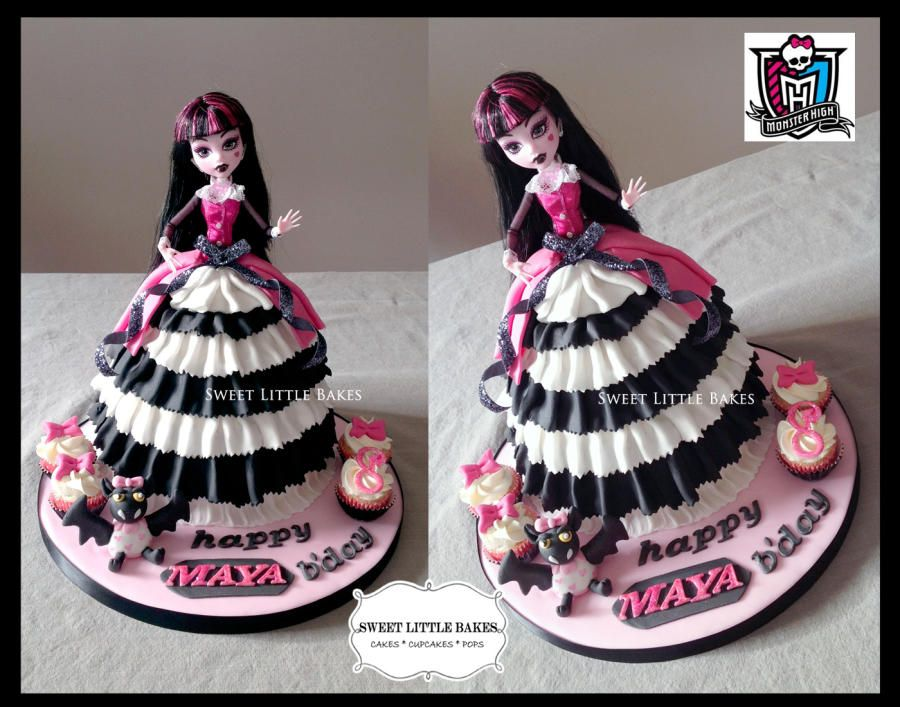 For A Girl Having A Monster High Themed Party And Using