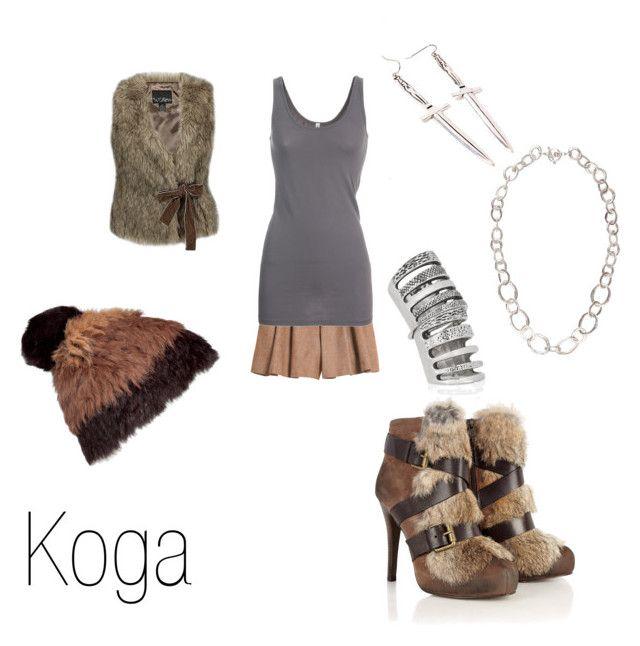 """Koga"" by ja-vy ❤ liked on Polyvore featuring Marc by Marc Jacobs, Mulberry, MDKN, Pamela Love, Ash, Splendid, UBU, Daytrip, koga and inuyasha"