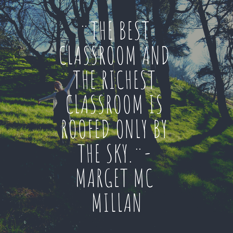 Quote About Forest School 168 The Best Classroom And The
