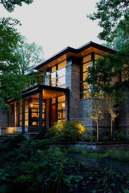 18 Amazing Contemporary Home Exterior Design Ideas: House Exterior, Modern Mansion, Fancy Houses