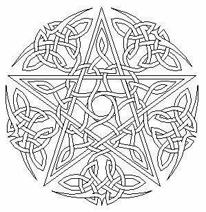 Wiccan Coloring Pages Free Printable