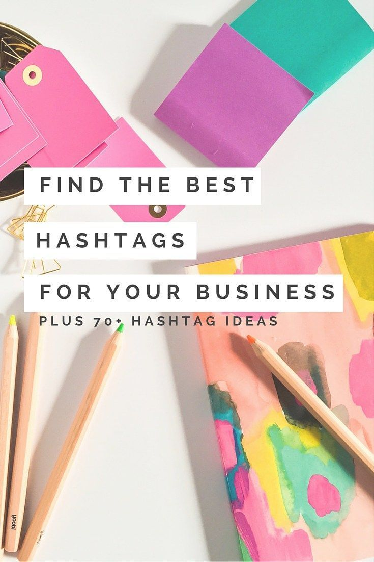 to Find the Best Hashtags for Your Business (plus 70+ hashtag ideas) Stressed out over hashtags on Instagram? 3 steps to determine your best hashtag mix + one HUGE time saving tip!Stressed out over hashtags on Instagram? 3 steps to determine your best hashtag mix + one HUGE time saving tip!