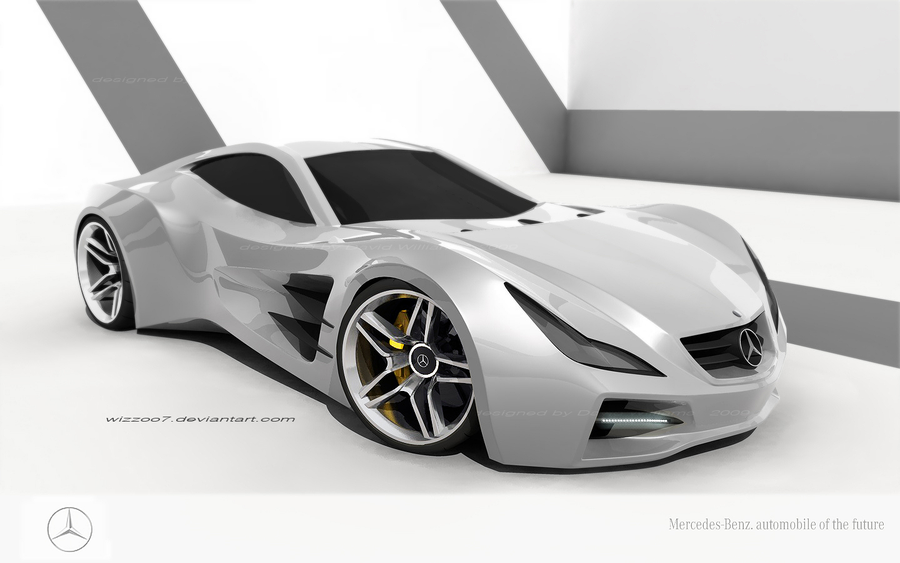 Future Car, concept mercedes 500slr by *wizzoo7