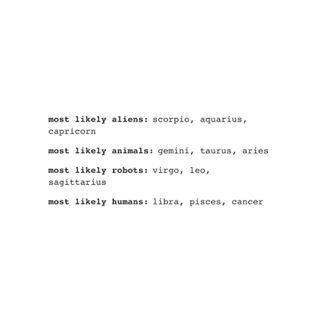 alien astrology signs